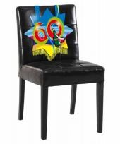 60e verjaardag stoel decoratie trend