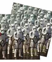 60x star wars thema servetten 33 x 33 cm trend