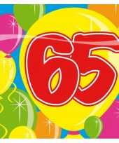 65 jarige servetten trend