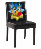 65e verjaardag stoel decoratie trend