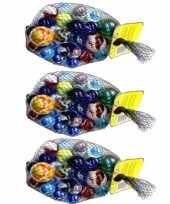 69x knikkers bonken in verschillende formaten en kleuren trend