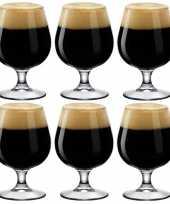 6x bierglazen bierbokalen speciaalbier 530 ml trend