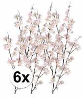 6x tak met roze appelbloesems 84 cm trend
