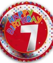 7 jaar helium ballon happy birthday trend