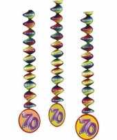 70 jaar decoratie rotorspiralen trend