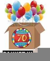 70 jarige feestversiering pakket xl trend