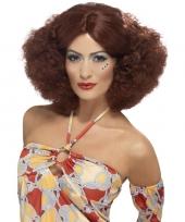 70s afropruik roodbruin voor dames trend
