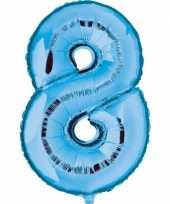 8 jaar versiering cijfer ballon trend 10062685