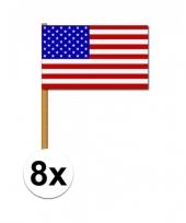 8 zwaaivlaggetjes amerika trend