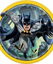 8x batman themafeest eetbordjes 23 cm trend