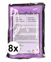 8x holi kleurpoeder paars trend