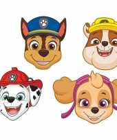8x paw patrol themafeest maskers trend