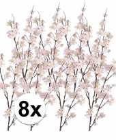 8x tak met roze appelbloesems 84 cm trend
