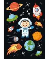 90x astronauten ruimte stickers trend