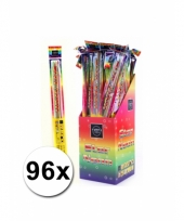 96 neon sterretjes 45 cm trend