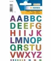 A t m z alfabet stickers met alle letters in kleuren trend