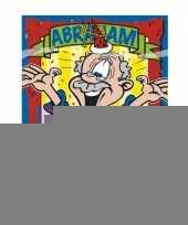 Abraham 50 jaar pakket met versiering trend