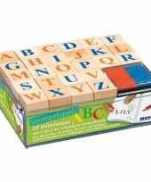Alfabet stempel hobby knutselset voor kinderen trend