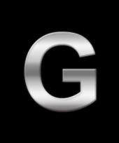 Alfabet stickers letter g trend