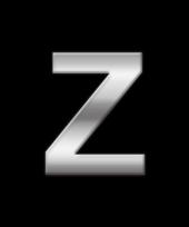 Alfabet stickers letter z trend