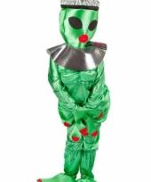 Alien kostuum groen dames trend