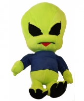 Alien pop blauwe trui 40 cm trend