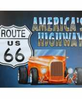 Amerika decoratie route 66 us trend