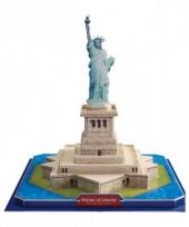 Amerikaanse vrijheidsbeeld 3d puzzel trend