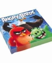 Angry birds servetten 20 stuks trend