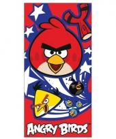 Angry birds zomer handdoek trend