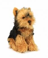 Anna club pluche yorkshire terrier hond knuffel 26 cm trend