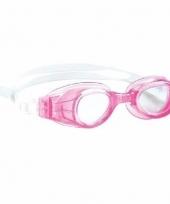 Anti chloor zwembril roze voor meisjes trend