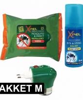 Anti muggen pakket medium trend