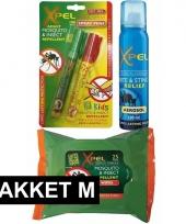 Anti muggen preventie en behandel pakket medium trend