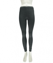 Antraciet thermo legging voor dames trend