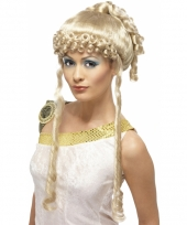 Aphrodite pruik blond trend