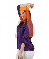 Arabische dameshoed met sluier trend