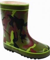 Army print regenlaarsjes voor kids trend