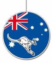 Australie feestversiering hangend 28 cm trend