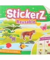 Autoraam stickers boek wilde dieren thema trend