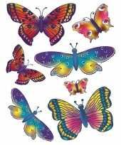 Autoraam stickers vlinders trend