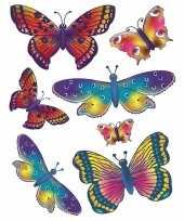 Autoraamstickers vlinders trend