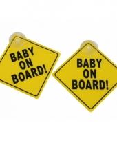 Baby signs voor de autoramen trend