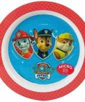 Babybordje paw patrol rood trend