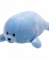Babyshower jongetje knuffeldier ty baby zeehond doodles 24 cm trend