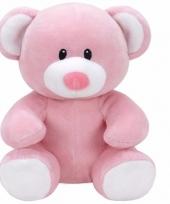 Babyshower meisje knuffeldier ty baby beertje princess 24 cm trend