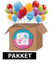 Babyshower onthulling decoratie feest pakket trend