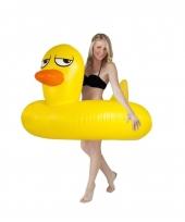 Badeend zwemband 120 cm trend