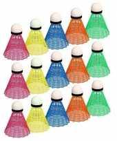 Badminton speel shuttles gekleurd trend 10157201