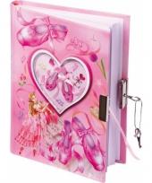 Ballerina dagboek met slot trend